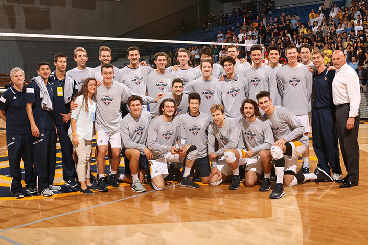 MPSF Volleyball champions