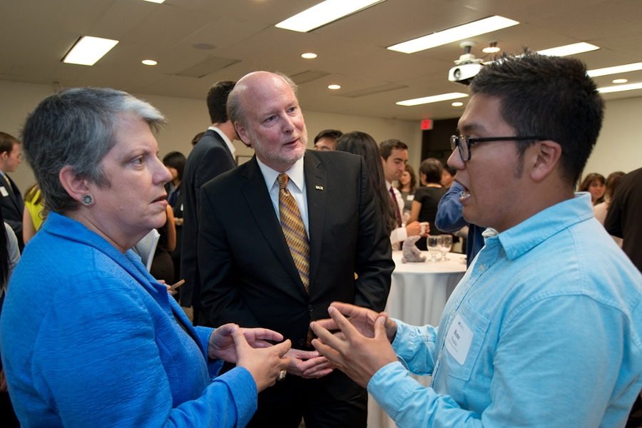 UC President Napolitano and Chancellor Gillman Bring College-Going Message to Santa Ana High