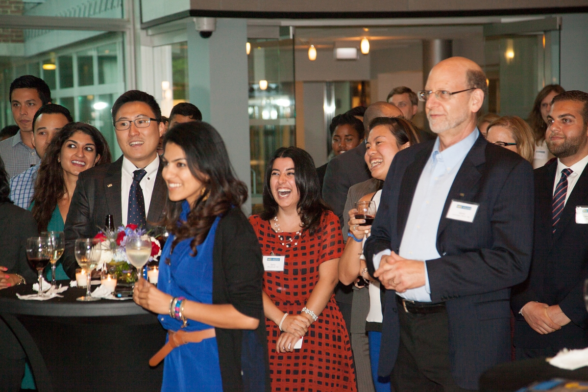 UCI Alumni hosted a reception at the British Embassy in Washington, D.C.