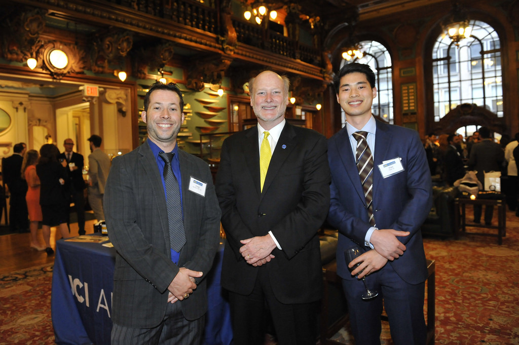 Chancellor Gillman Visits New York Alumni