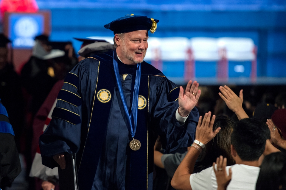 Chancellor Gillman Welcomes Class of 2019 at 50th Convocation Ceremony