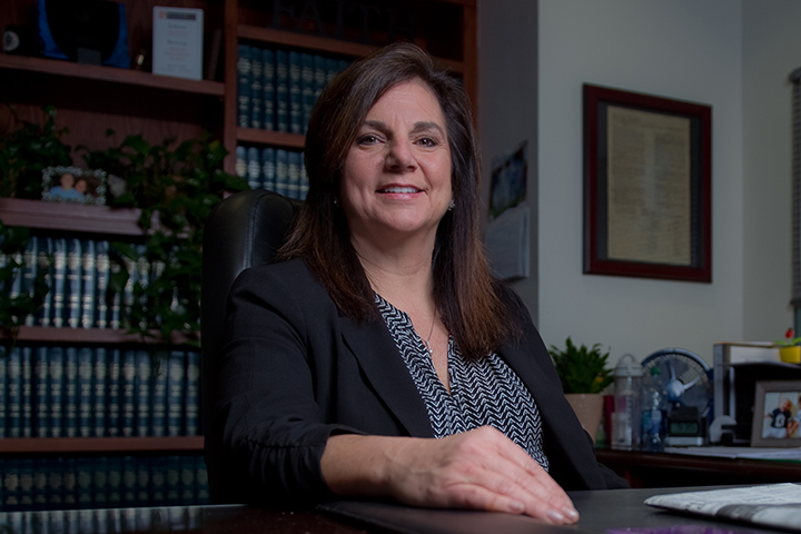 Maria D. Hernandez '86, presiding judge of Orange County's juvenile court