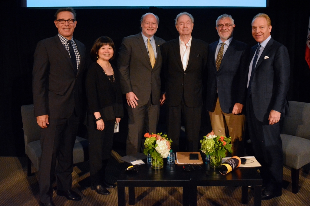 Chancellor Gillman Honors UCI Trustee Charles Martin at Book Launch