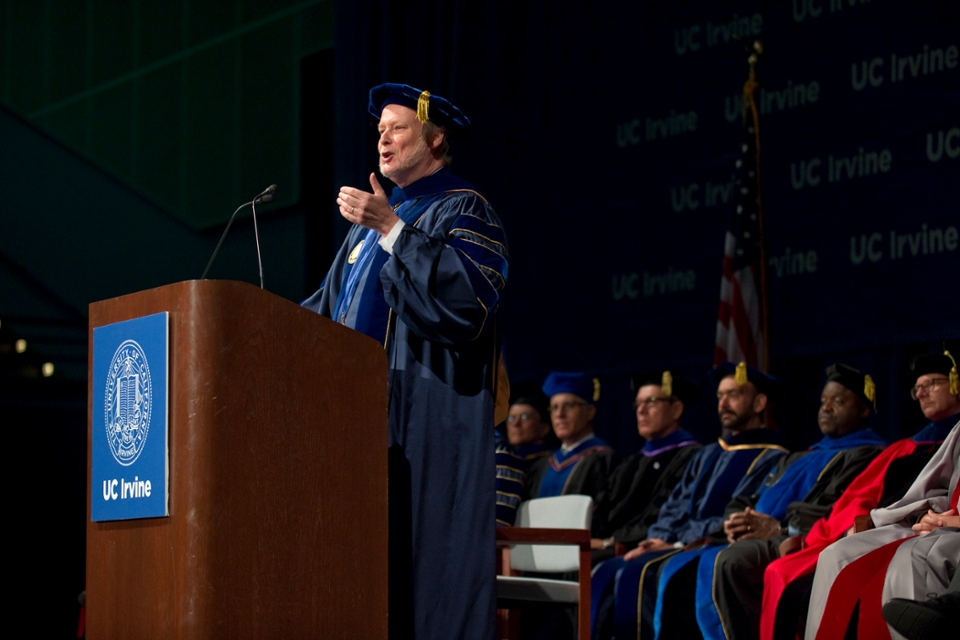 Chancellor Remarks at 2016 Convocation