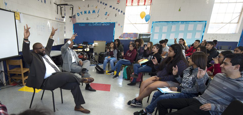 UCI vice chancellor speaks at Compton High