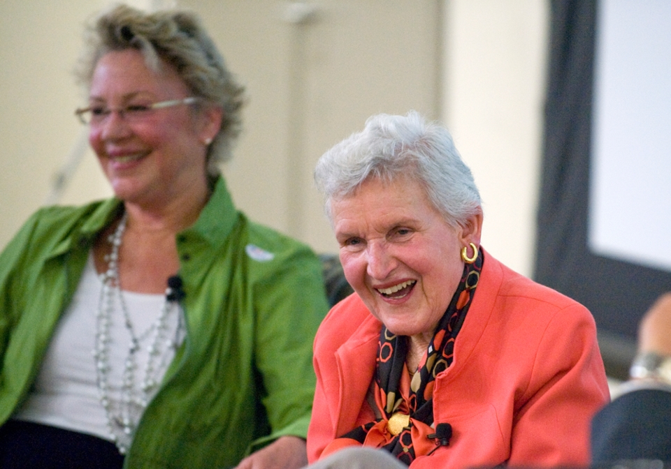 UCI's founding first lady Jean Aldrich passes away at 96.