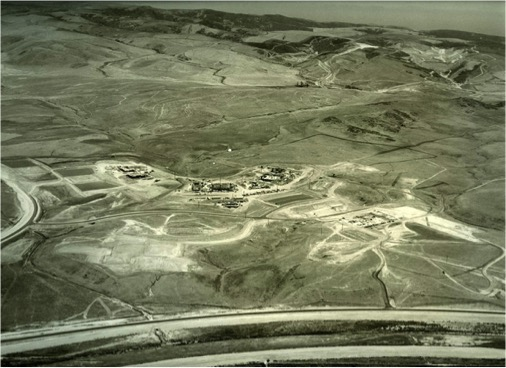 Aerial photo of UCI, 1965