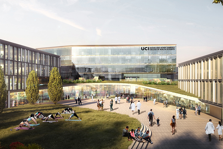 College of Health Sciences rendering